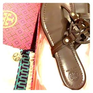 COPY - Tory Burch Miller sandal in chocolate